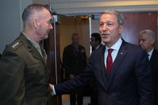 Hulusi Akar'dan ABD Genelkurmay Başkanı'na sert YPG uyarısı...