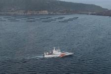 Ege'de kurtarma operasyonu 40 göçmen mahsur kaldı