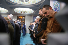 Mevlid Kandili'nde camiler doldu taştı