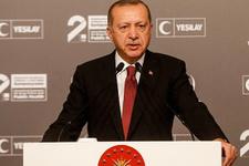 Erdoğan'dan helikopter kazası ile ilgili başsağlığı mesajı