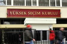 Yüksek Seçim Kurulu'ndan aday açıklaması istifaları şart