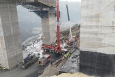 Kocaeli Gebze'den kötü haber : Beton blok düştü işçiler altında kaldı