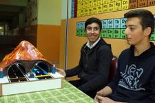 Iğdırlı iki öğrencinin 'Enerji Dostu Tünel'i TÜBİTAK'ta 3. oldu