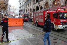 İstiklal Caddesi'ndeki intihar girişimi 2 saat sürdü!