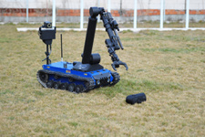 Türk polisine Aselsan'dan Ertuğrul robotu