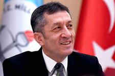 Milli Eğitim Bakanı'mız Ziya Selçuk'a teşekkürler