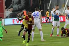 Göztepe sahasında Rizespor'u mağlup etti!