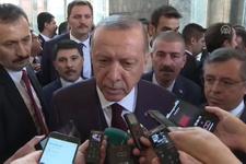 Cumhurbaşkanı Erdoğan'dan İran'a yaptırım açıklaması