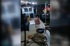 Mersin'de göçmenleri taşıyan tekne battı