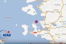 Ege'de deprem meydana geldi büyüklüğü ne kadar?