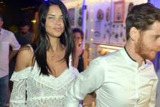 Adriana Lima'nın Metin Hara'yla öpüştüğü anlar olay oldu!