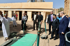 İçişleri Bakanı Süleyman Soylu Sudan'da