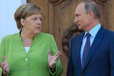 Putin ile Merkel o gerilimi görüştü