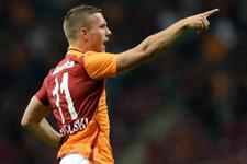 Podolski'den sürpriz Galatasaray paylaşımı
