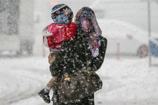 Ankara'da kar yağışı okullar tatil olabilir hava durumu kötü