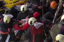 Yüksek Hızlı Tren'deki yaralı böyle kurtarıldı! Korkunç görüntüler