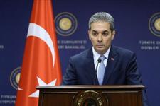 Dışişleri Sözcüsü Aksoy: PKK Irak topraklarını üs olarak kullanıyor