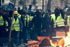 Paris'te 'Sarı Yelekliler'in gösterisi öncesi 37 gözaltı