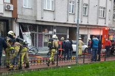 Fatih'te pet shopta yangın: 1 yaralı