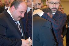 Sanayi ve Teknoloji Bakanı Mustafa Varank kürsüde gözyaşlarına boğuldu!