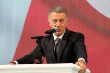 Trabzonspor'da başkan Ağaoğlu güven tazeledi