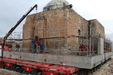 Eyyubi Camisi'nin 2 bin 650 tonluk son bölümü taşınıyor