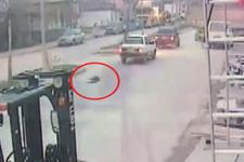 Otomobile bağlanan köpek caddede süreklendi