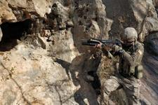 Siirt'te PKK'ya ait 6 mağara imha edildi