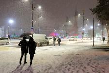 Ankara kar bastırdı saatlik hava durumu raporları fena!