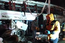 Kırşehir'de yolcu otobüsü devrildi! 3 kişi öldü 35 kişi yaralandı
