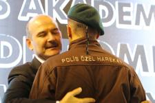 İçişleri Bakanı Soylu yeni mezun polislere nasihatler verdi
