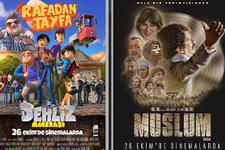 Sinemada en çok izlenen 10 filmin 9'u yerli