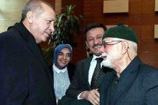Erdoğan'ı gördü ama duygulanıp ağlayınca konuşamadı