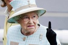 Kraliçe'nin mallarına kurşun yağdırdılar