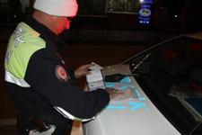 Isparta'da drift atan sürücülere 20 bin lira ceza