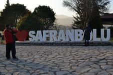 Safranbolu'da yılbaşı yoğunluğu