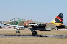 Ermenistan'da Su-25 savaş uçağı düştü