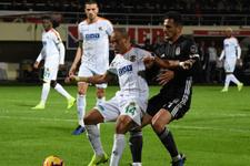 Alanyaspor Beşiktaş maçı sonucu ve geniş özeti