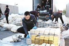 1 ton 271 kilogram eroinin altından o iş adamı çıktı