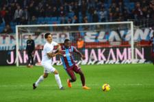 Trabzon'da Konyaspor'a olay gönderme