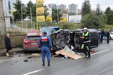 Trabzon'da feci kaza: Ölü ve yaralılar var!