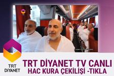 2018 Hac kuraları Diyanet tv youtube canlı yayını