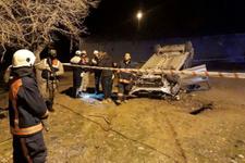 Elazığ'da trafik kazası: Biri polis 2 kişi hayatını kaybetti