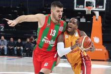 Galatasaray Odeabank farklı kazandı