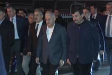 Başbakan Yıldırım'dan şehit ailelerine taziye ziyareti