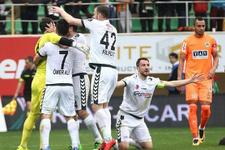 Aytemiz Alanyaspor-Atiker Konyaspor maçı golleri ve sonucu