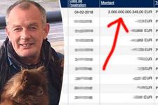 Küçük bir hatayla 2 trilyon euronun sahibi oldu!