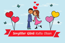 14 şubat mesajları-resimli kısa sevgililer günü sözleri