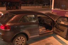 Otomobil belediye otobüsüne arkadan çarptı: 2 yaralı