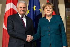Yıldırım-Merkel görüşmesinden sonra önemli açıklamalar